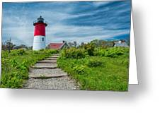 Spring At Nauset Light Greeting Card