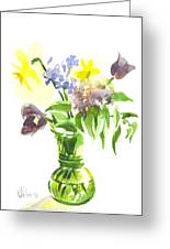 Spring Bouquet IIi Greeting Card
