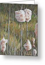 Spring Cattails I Greeting Card