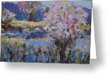 Spring Crabapples Greeting Card