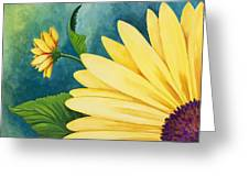 Spring Daisy Greeting Card