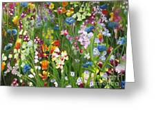Spring Explosion Greeting Card