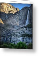 Spring Falls Greeting Card by Stuart Deacon
