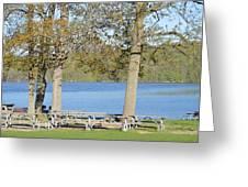 Spring Fed Shepherd Lake Greeting Card