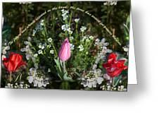 Spring Flower Pano Greeting Card
