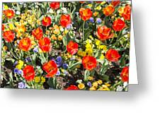 Spring Flowers No. 2 Greeting Card