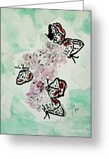 Spring Flutter Greeting Card