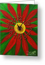 Spring Forward Greeting Card