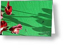 Spring Haiku 2 Greeting Card