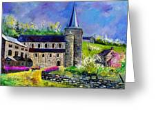 Spring In Celles  Greeting Card