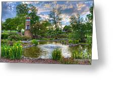 Spring In Harmon Park Greeting Card