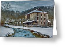 Spring Mill  Greeting Card