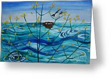 Spring On Lake Ontario Greeting Card