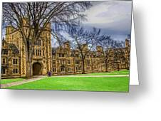 Spring On The Law Quad Greeting Card