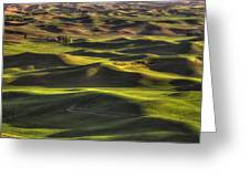 Spring On The Palouse Greeting Card