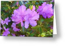 Spring Pink Azalea Greeting Card