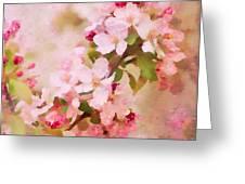 Spring Pink Greeting Card