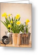 Spring Planting Greeting Card