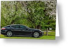 Spring Porsche Greeting Card