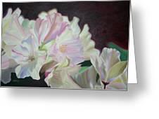 Spring Rhodys Greeting Card