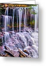 Spring Runoff At The Falls Greeting Card