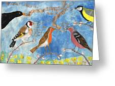 Spring Singing Beginning Greeting Card