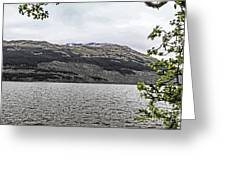 Spring Snow In The Highlands Greeting Card