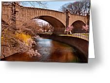 Spring - Springtime In Newark Greeting Card