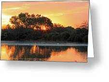 Spring Sunrise Gilbert Arizona Greeting Card