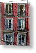 Spring Sunshine In Madrid Greeting Card