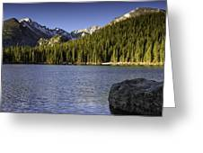 Spring Time At Bear Lake Greeting Card by Tom Wilbert
