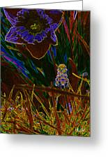 Spring Time In Lillyput Greeting Card