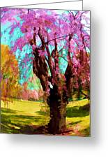 Spring Tree V Greeting Card