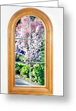 Spring View Greeting Card