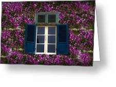 Spring Window Greeting Card