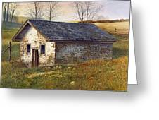 Springhouse Greeting Card