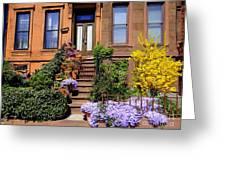Springtime In Brooklyn Greeting Card
