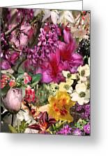 Springtime In Zebulon Left Greeting Card