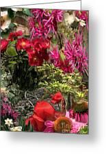 Springtime In Zebulon Right Greeting Card