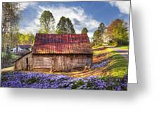Springtime On The Farm Greeting Card