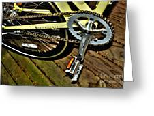 Sprocket And Chain Greeting Card
