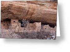 Spruce Tree Cliff Dwelling Greeting Card