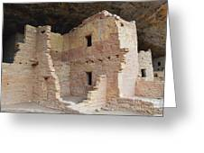 Spruce Tree House Structure Greeting Card