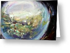 Spyglass II Greeting Card by Tanya Byrd