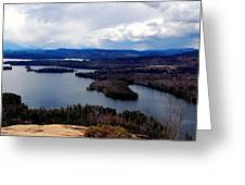 Squam Lake New Hampshire Greeting Card