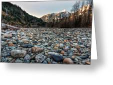 Squamish Stone View Greeting Card