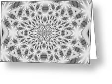 Square Abstract V Greeting Card