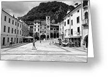 Square In The Summer Greeting Card