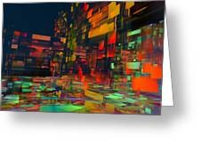 Squarecity1 Greeting Card