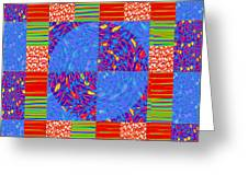 Squares Lines Dots Symbol Infinity Red Purple Blue Green Colorful Waves Unique Background Designs  A Greeting Card